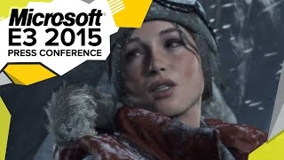 Rise of the Tomb Raider Gameplay Demo - E3 2015 Microsoft Press Conference
