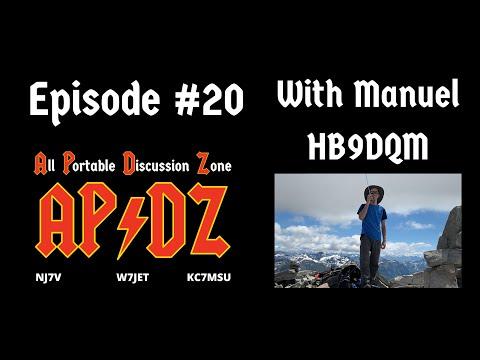 Episode #20 - Manuel HB9DQM