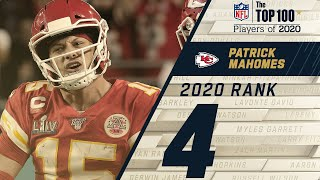 #4: Patrick Mahomes (QB, Chiefs) | Top 100 NFL Players of 2020