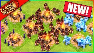 Clash of Clans UPDATE... SUPER HOGS? MEGA WITCHES & MORE!