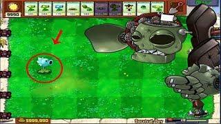 1 Peashooter vs Dr. Zomboss Hack Plants vs Zombies