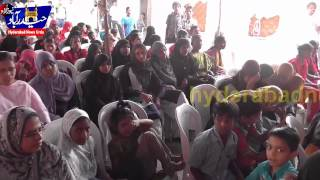 Quran e majeed Copies distributed among Blind students