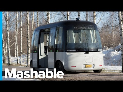 This Futuristic Autonomous Bus Aims to Conquer Snowy, Icy Roads