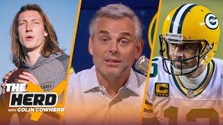 Colin Cowherd chooses Winners in 2021 NFL Draft, talks Aaron Rodgers & Jordan Love | NFL | THE HERD