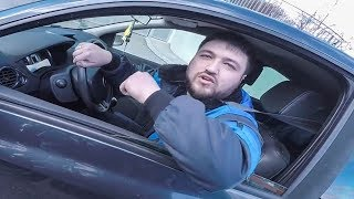 CRAZY STUPID & ANGRY PEOPLE vs BIKERS | CRAZY MAN TRIES TO RUN OVER WIFE |  [Ep. #143]