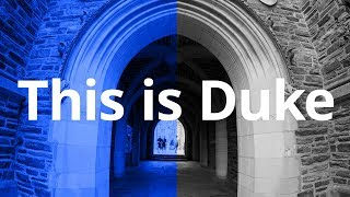 This is Duke video
