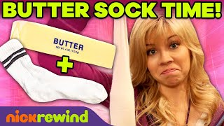 Every Time Sam Used the Butter Sock 🧈🧦 | iCarly