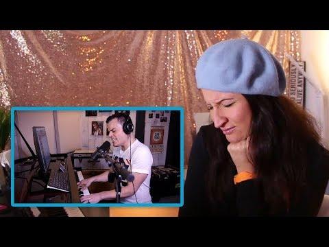 Vocal Coach REACTS to MARC MARTEL- BOHEMIAN RHAPSODY (one take)