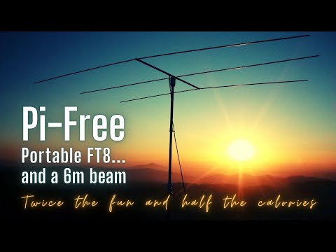 My solution to portable FT8 (it's NOT a Raspberry Pi)
