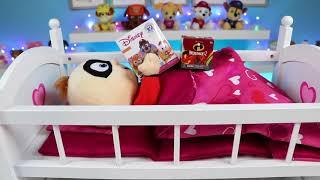 디즈니 Incredibles 2 아기 잭 잭 수두 & 방문 박사 Mcstuffins 장난감 병원이있다!