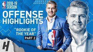 Luka Doncic BEST Offense Highlights from 2018-19 NBA Season! ROOKIE OF THE YEAR (Part 2)