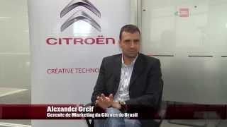Alexander Greif, da Citroën do Brasil, no quadro Causos