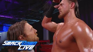 Big Cass confronts Daniel Bryan during the Superstar Shake-up: SmackDown LIVE, April 17, 2018