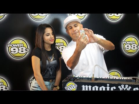 MC MAGIC with BECKY G exclusive interview - YouTube