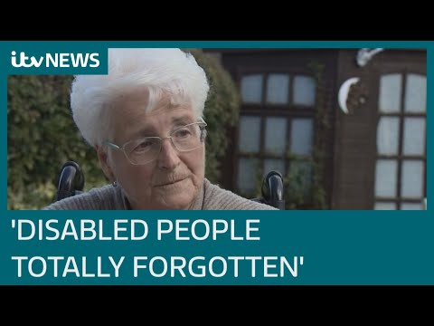 Disabled people 'abandoned' in UK's Covid crisis | ITV News