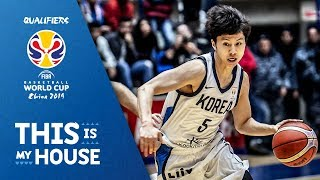 Korea's Best Plays of the FIBA Basketball World Cup 2019 - Asian Qualifiers