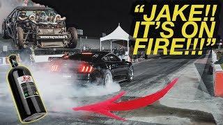 Cleetus McFarland RIPPED my Mustang on NITROUS!!