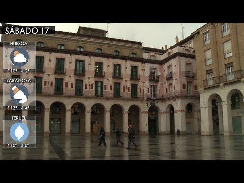 Aragón recibe el fin de semana con precipitaciones débiles y temperaturas que rondan los 14 grados