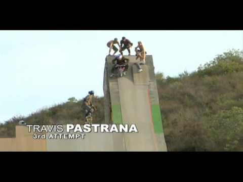 Travis Pastrana Backflip Tricycle.  ALL THREE ATTEMPTS