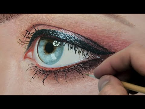Painting a Realistic Eye | Episode 194