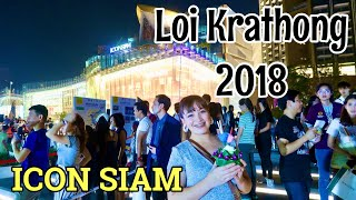 Filipina Vlogger in Thailand celebrates Loi Krathong 2018 || Icon Siam