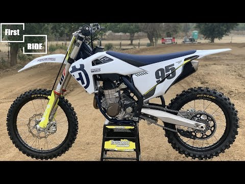 First Ride 2020 Husqvarna FC450 - Motocross Action Magazine