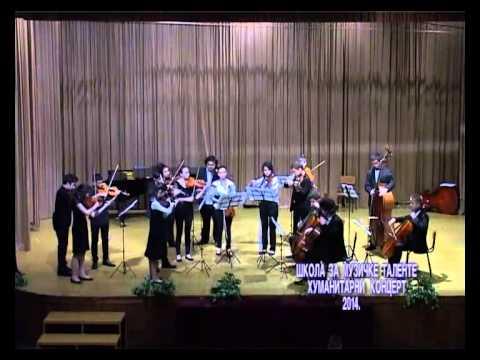 Хуманитарни концерт, Школа за Музичке таленте 2014.