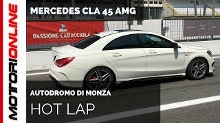 Mercedes CLA 45 AMG | Hot Lap in Monza