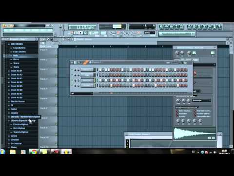 Tutorial Instrumental rap - FL Studio 10 [Kick, Hat, Snare, Sample] ESPAÑOL