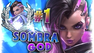 [Best #1 World SOMBRA Player] Moments Montage | Sombra God Player