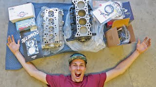 ASSEMBLING MY FULLY FORGED MIATA ENGINE!