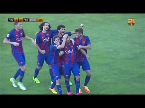 Racing Santander vs Barcelona B