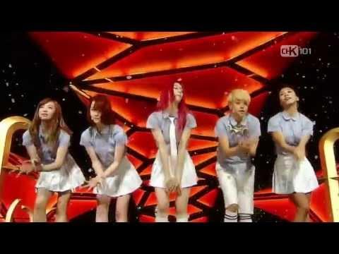 HD | LIVE 130804  f(x) - Rum Pum Pum Pum @ SBS Inkigayo
