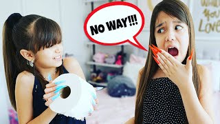 LAST ONE TO WEAR LONGEST NAILS WINS $ CHALLENGE! | Emily and Evelyn