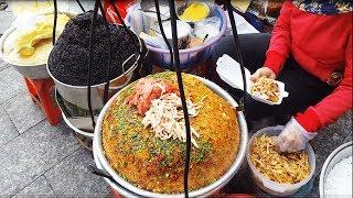 Gánh xôi đường phố mấy chục năm hút khách nhờ nước cốt dừa cực ngon | street food of saigon | vnt