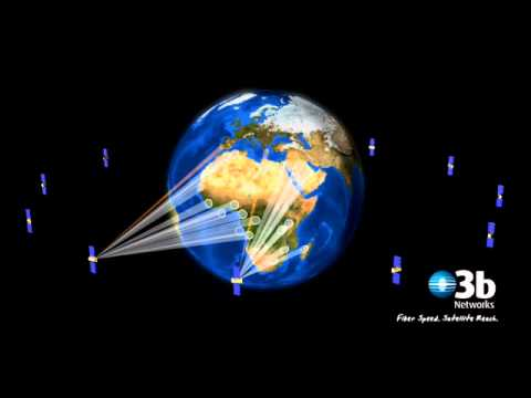 O3b's Constellation Demonstration - Africa
