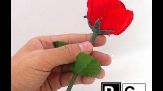 Hướng dẫn ảo thuật ngọn đuốc lửa hóa ra hoa hồng