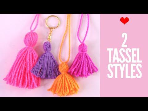 How to Make Tassels - Easy 2 Methods