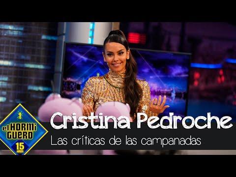 Cristina Pedroche, sobre las críticas del trabajo en el vestido de las campanadas – El Hormiguero