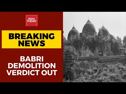 Babri demolition verdict out: LK Advani, Murali Manohar Joshi, Uma Bharti acquitted