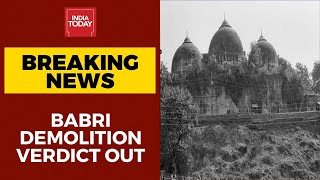 Babri demolition verdict out: LK Advani, Murali Manohar Jo..