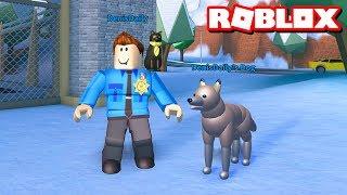 JAILBREAK POLICE DOGS!! | Roblox Jailbreak