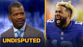 Rob Parker joins Skip and Shannon to talk Odell Beckham Jr.'s halftime antics | NFL | UNDISPUTED