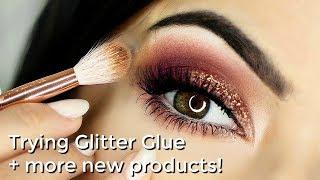 Beginner Glitter Eye Makeup Tutorial Talk Through + All NEW Makeup Fun!