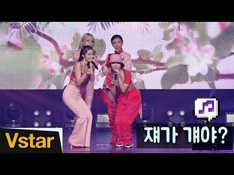 봄을 부르는~ ❤︎ 마마무(MAMAMOO), 쟤가 걔야(WAGGY) 무대 @Media Showcase (2019.03.14)