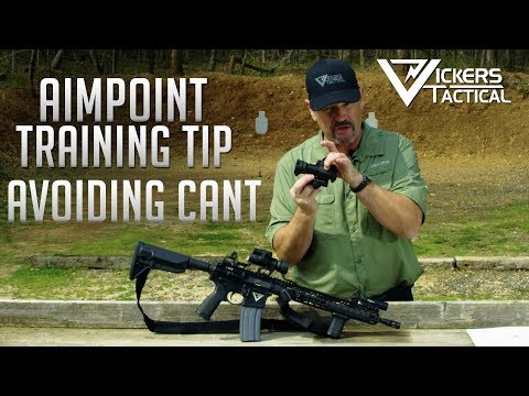 Aimpoint Training Tip: Avoiding Cant 4k