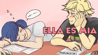 ESTOY ENAMORADO DE ELLA | Miraculous Ladybug Comic Español.