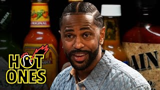 Big Sean Goes On a Spiritual Journey While Eating Spicy Wings   Hot Ones