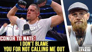 Conor breaks silence & sends message to Nate Diaz; Masvidal confirms Nate talks; Cejudo vs Aldo?