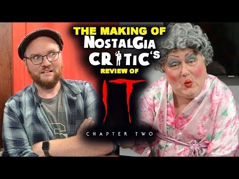 It Chapter Two - Making of Nostalgia Critic